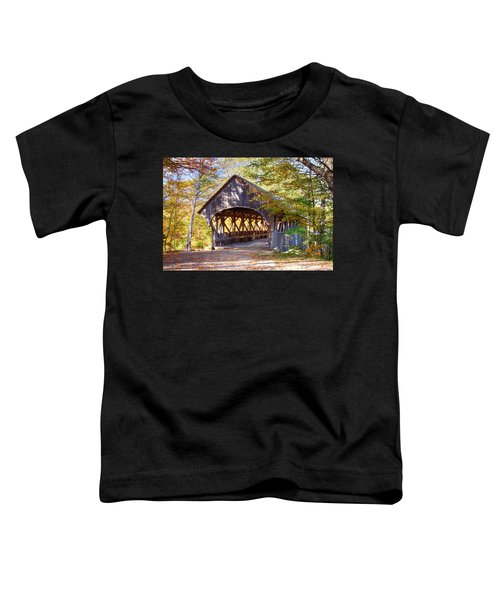 Sunday River Covered Bridge Toddler T-Shirt