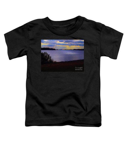 Sundown On A Cloudy Day Toddler T-Shirt