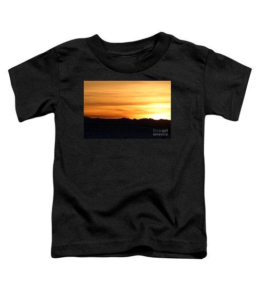 Sundre Sunset Toddler T-Shirt