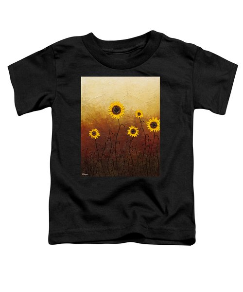 Sunflowers 1 Toddler T-Shirt