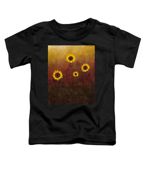Sunflowers 3 Toddler T-Shirt