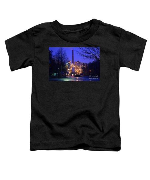 Sunila Pulp Mill By Rainy Night Toddler T-Shirt