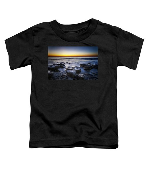 Sunrise At Cave Point Toddler T-Shirt