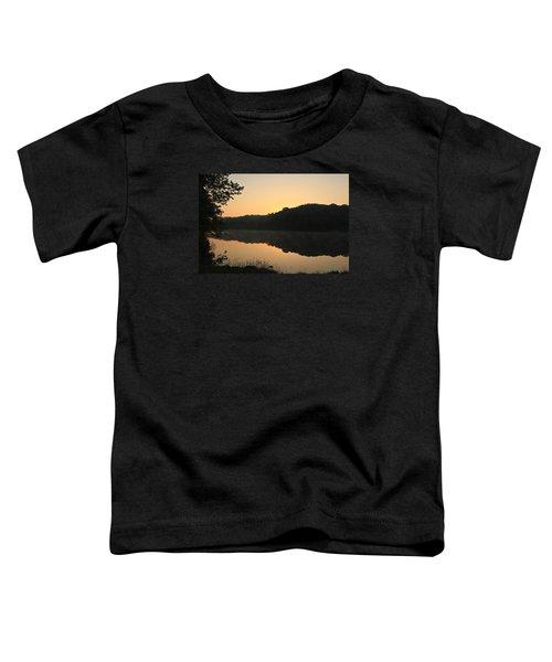 Sunrise At Rose Lake Toddler T-Shirt