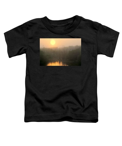 Sunrise In The Everglades Toddler T-Shirt