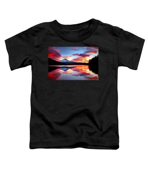 Sunrise On The Lake Toddler T-Shirt