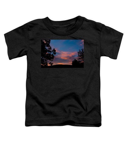 Sunrise Over Mammoth Campground Toddler T-Shirt