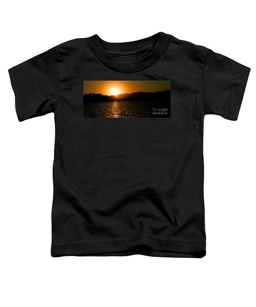 Sunset At Kunming Lake Toddler T-Shirt