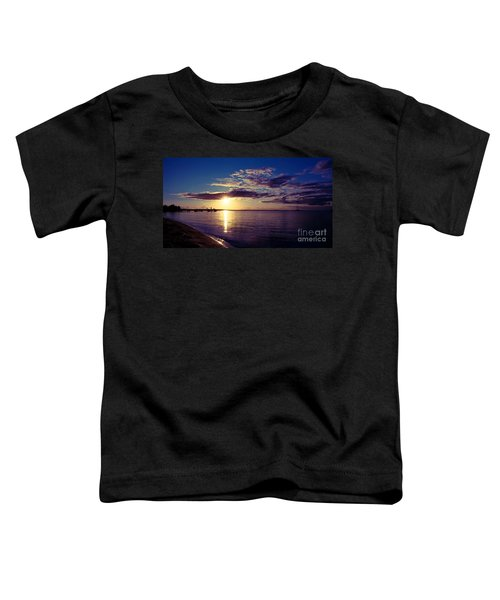 Sunset At Monkey Mia Toddler T-Shirt
