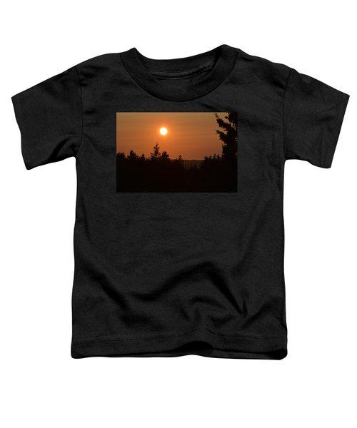 Sunset At Owl's Head Toddler T-Shirt