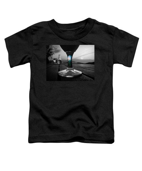 Sunset Cafe Toddler T-Shirt
