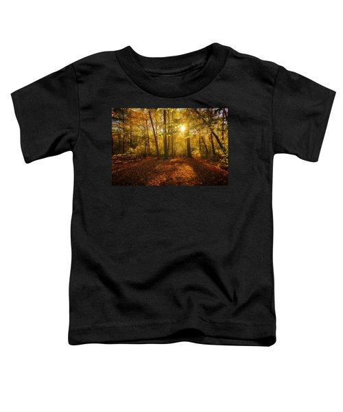 Sunset Forest Toddler T-Shirt