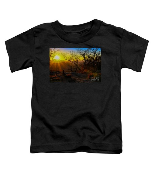 Sunset From Blood Mountain Toddler T-Shirt