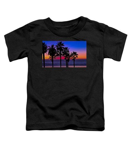 Sunset From The Ocean Park Inn Toddler T-Shirt