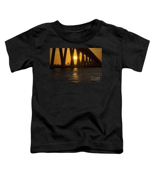 Sunset Over Sanibel Island Photo Toddler T-Shirt