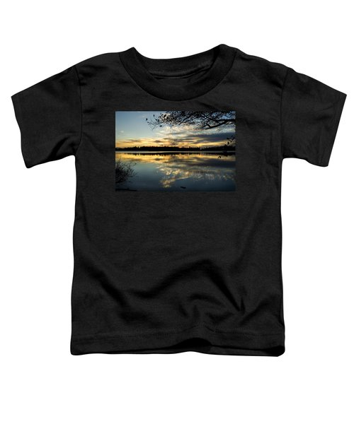 Sunset Reflection Toddler T-Shirt