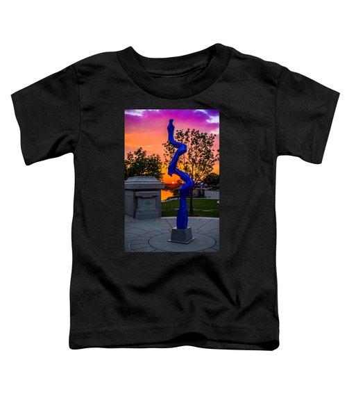 Sunset Sculpture Toddler T-Shirt