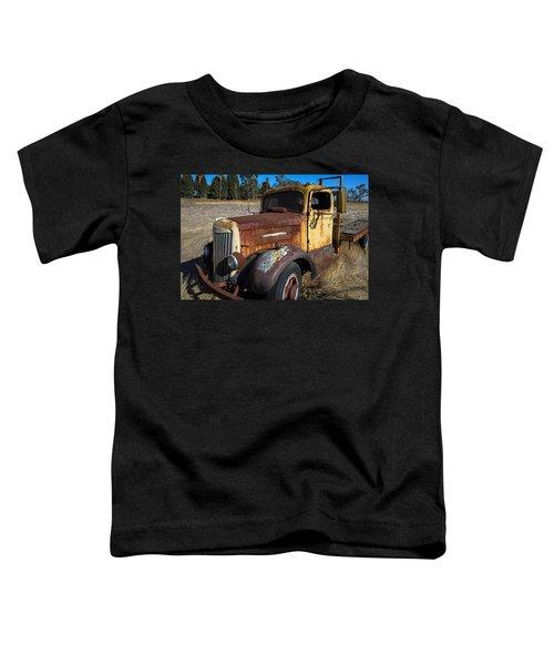 Super White Truck Toddler T-Shirt