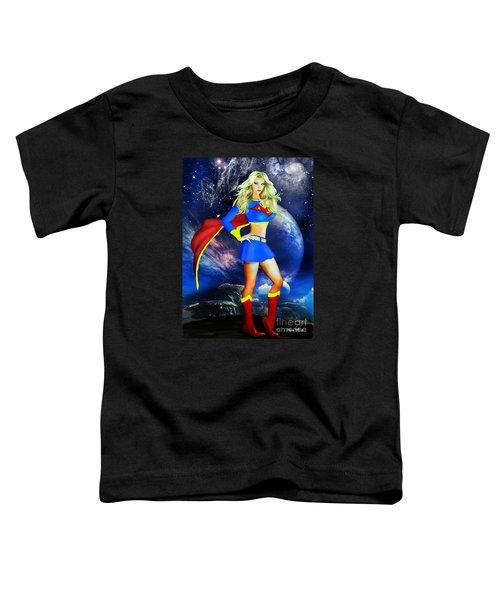 Supergirl Toddler T-Shirt