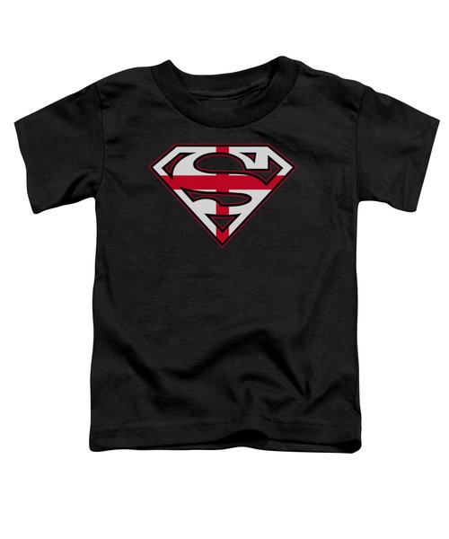 Superman - English Shield Toddler T-Shirt