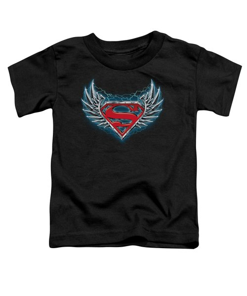 Superman - Steel Wings Logo Toddler T-Shirt