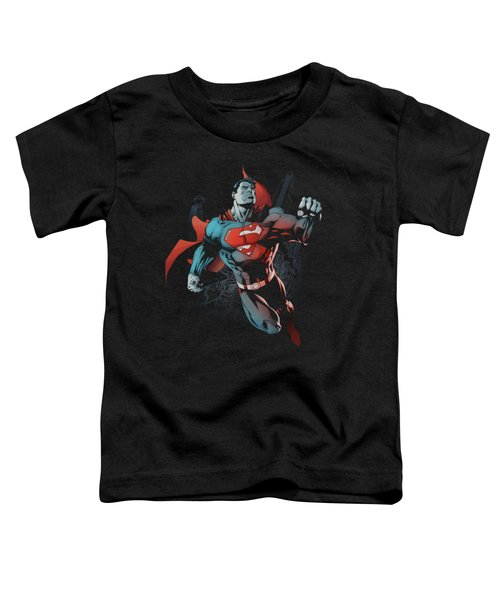 Superman - Up In The Sky Toddler T-Shirt