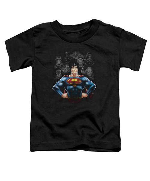 Superman - Villains Toddler T-Shirt