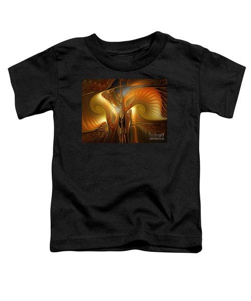 Surrealistic Landscape-fractal Design Toddler T-Shirt