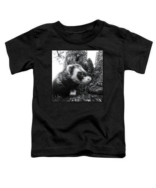 Sweet Little Nicky Chillin In A Tree Toddler T-Shirt