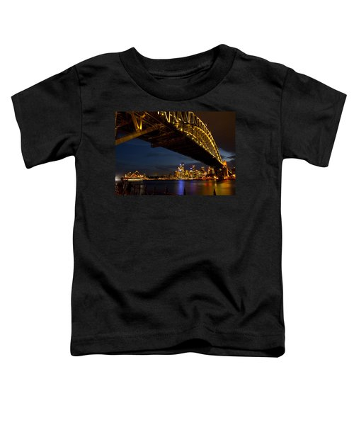 Toddler T-Shirt featuring the photograph Sydney Harbour Bridge by Miroslava Jurcik