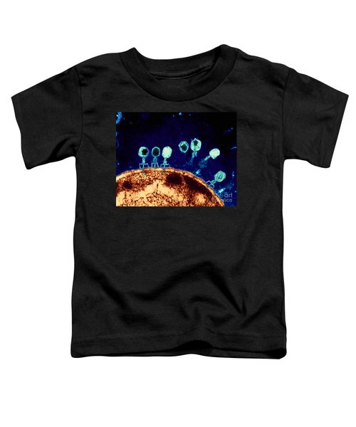 T-bacteriophages And E-coli Toddler T-Shirt