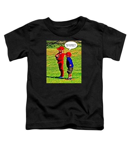 T Ball Fielders Toddler T-Shirt
