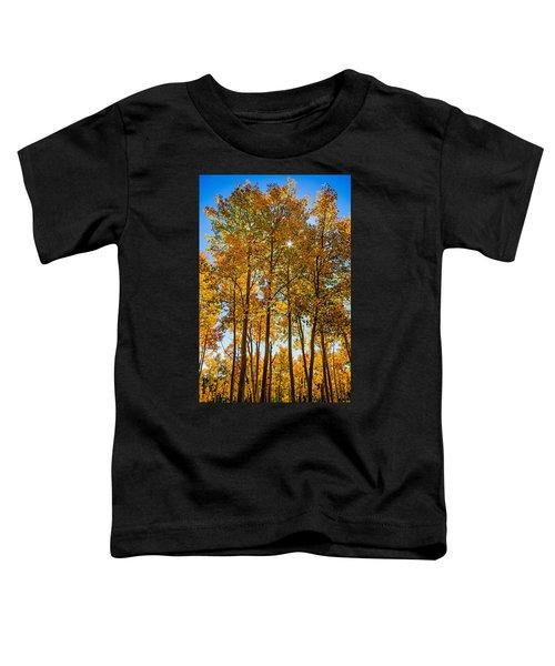 Tall Aspen With Sunstar Toddler T-Shirt
