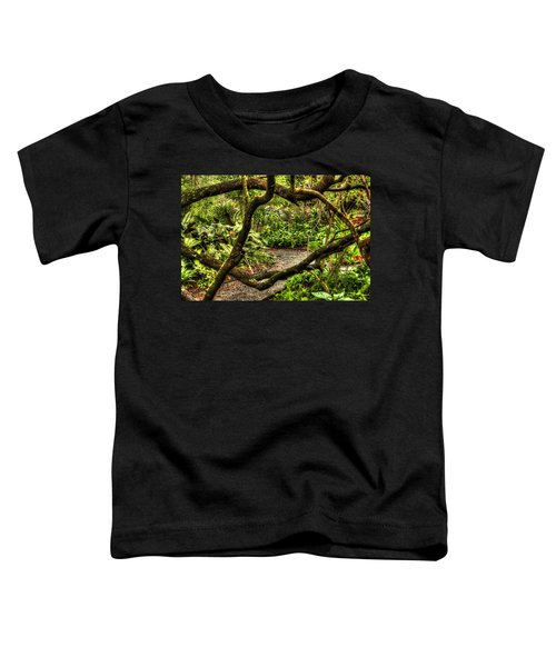 Tangled Path Toddler T-Shirt
