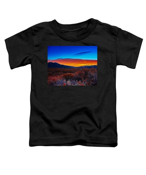 Taos Sunrise X Toddler T-Shirt