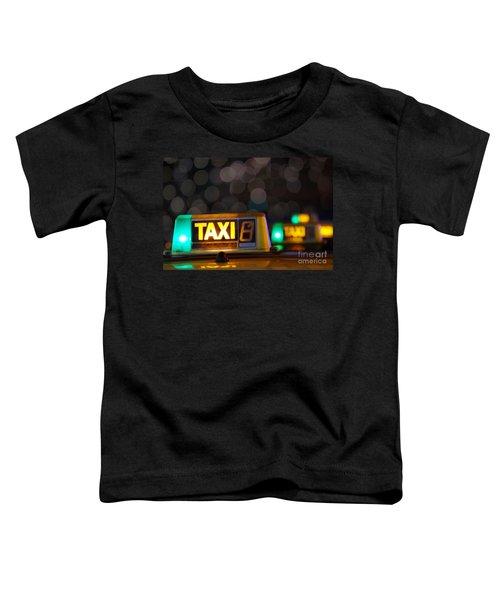 Taxi Signs Toddler T-Shirt