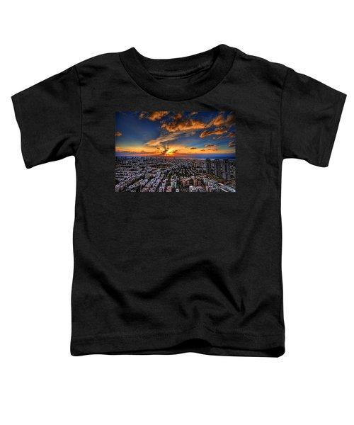 Tel Aviv Sunset Time Toddler T-Shirt