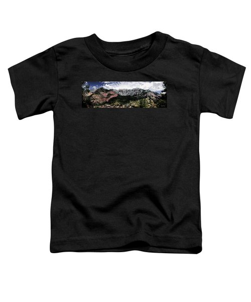Telluride From The Air Toddler T-Shirt