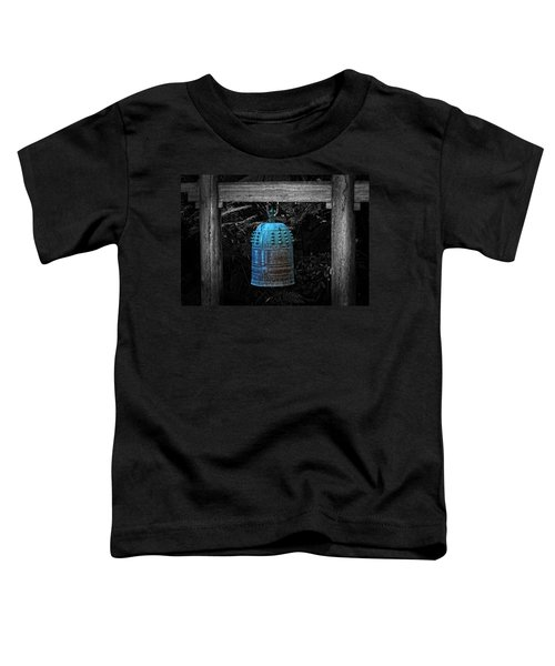 Temple Bell - Buddhist Photography By William Patrick And Sharon Cummings  Toddler T-Shirt