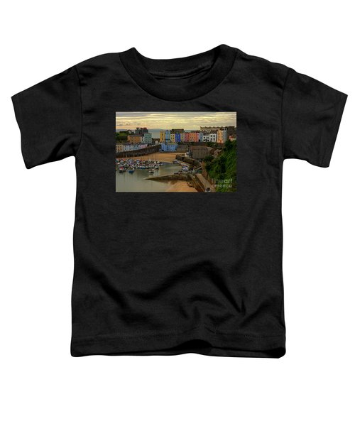 Tenby Harbour In The Morning Toddler T-Shirt