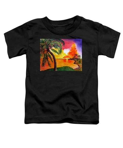 Tequila Sunset Toddler T-Shirt