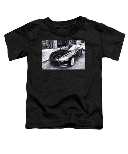 Tesla Model S Toddler T-Shirt