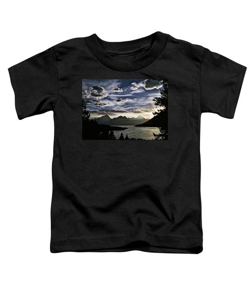 Teton Range Sunset Toddler T-Shirt