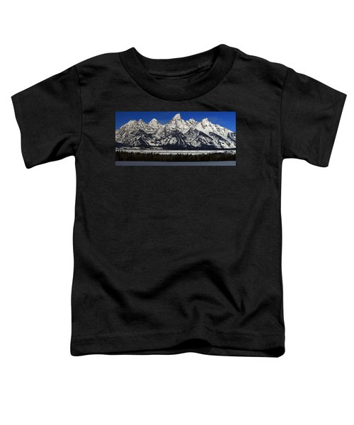 Tetons From Glacier View Overlook Toddler T-Shirt