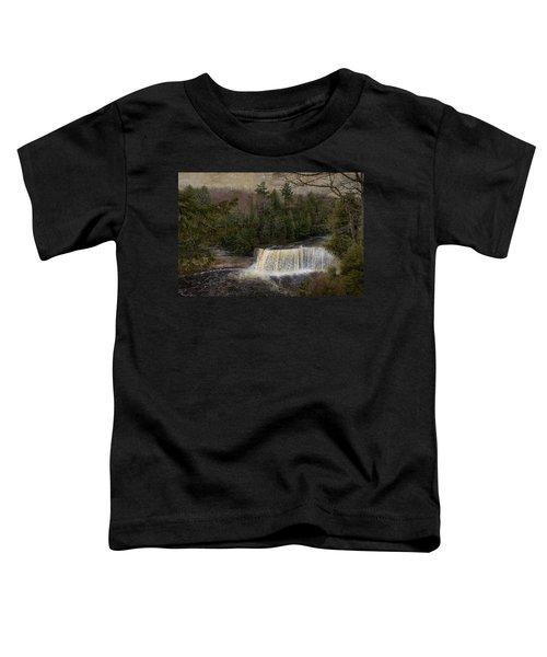Textured Tahquamenon River Michigan Toddler T-Shirt