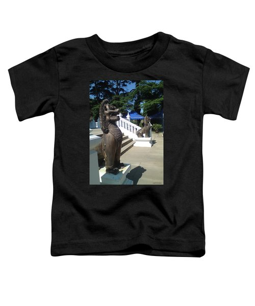 Thai Temple Steps Toddler T-Shirt
