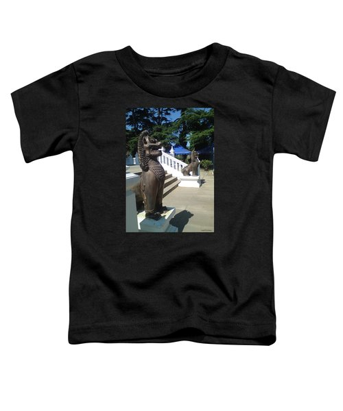 Thai Temple Steps Toddler T-Shirt