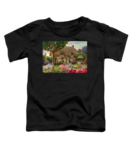 Thatched Cottage Toddler T-Shirt