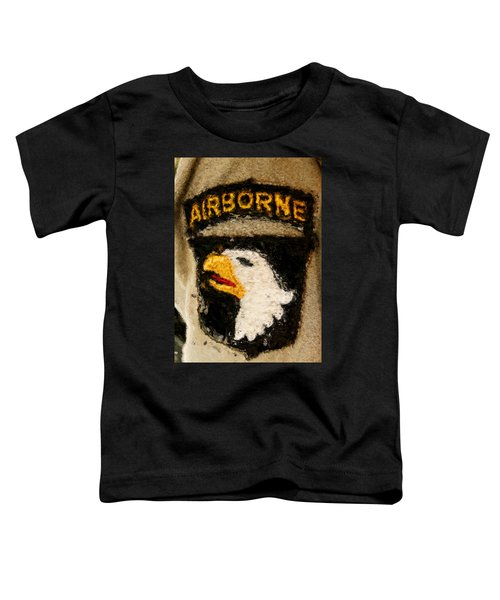The 101st Airborne Emblem Painting Toddler T-Shirt