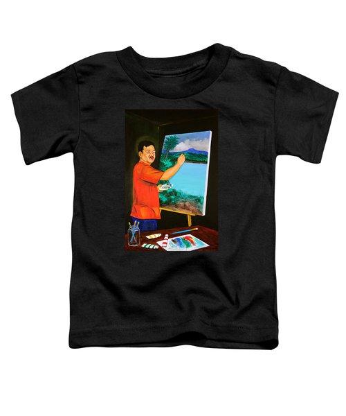 The Artist Toddler T-Shirt